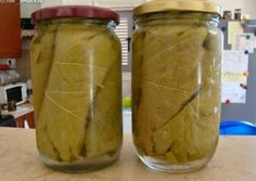 Yams, Greek Recipes, Pickles, Cooking Tips, Cucumber, Mason Jars, Good Food, Food And Drink, Gluten Free