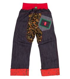Water Star Chubba Jean - Big, Oishi-m Clothing for kids, circa 2015, www.oishi-m.com