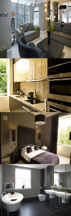 These Edinburgh serviced apartments have great transport routes with just a 10 minute walk from Haymarket railway station and 7 miles from Edinburgh Airport. Here are Chester Apartments, Centre, Edinburgh.