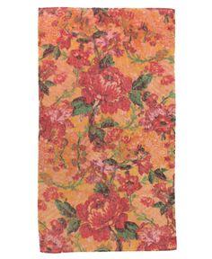 Fresco Towels Provence Flowers Coral Bath Towel