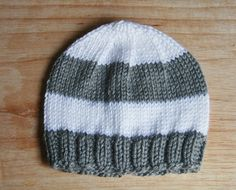 Knit Baby Hat   Size 0 to 3 month   Ready to Ship by BrightsideStudio, $16.00