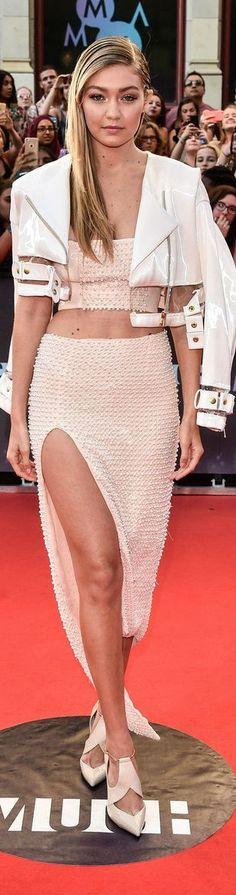 Gigi Hadid in Mikhael Kale - 2015 MuchMusic Video Awards
