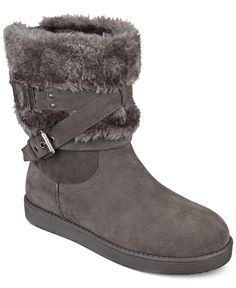 G by GUESS Azzie Cold Weather Booties - Boots - Shoes - Macy's