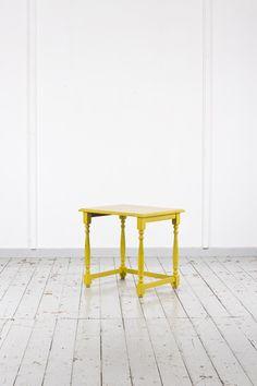 Ein gelber Tisch - warum nicht? #EDS