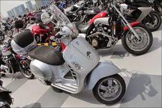 2014 Street motorcycle in Japan- VESPA
