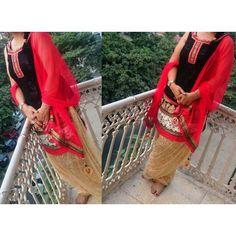 Kurta Pajama Punjabi, Punjabi Suits, Patiala Suit, Shalwar Kameez, Suit Accessories, Indian Dresses, Straw Bag, Ready To Wear, Pajamas