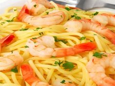 Shrimp Scampi Miracle noodles, also found as shirataki noodles, are a great option for any phase of the Dukan Diet when you want something that mimics carbohydrates and pasta. They are completely approved for all phases of the Diet. This recipe uses them to make a classic shrimp scampi with lemon and garlic.