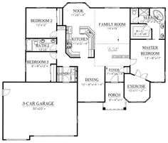 House Plan 50207 at FamilyHomePlans.com