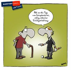 Sport Lustig Comic