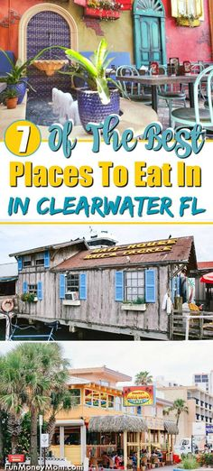 Where To Eat In Clearwater - Looking for the best Clearwater restaurants? From eating on the water at an old Bait Shack to fine dining on Clearwater Beach these are some of our favorite places to eat in Clearwater Florida! Clearwater Restaurants, Destin Florida Restaurants, Destin Florida Vacation, Clearwater Beach Florida, Florida Beaches, Florida Travel, Florida Resorts, Beach Cafe, Best Places To Eat