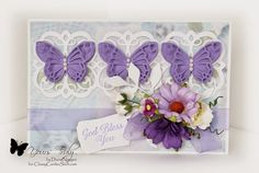 Diana Nguyen, Shabby Chic, Memory Box, Mary Border Strip, butterfly, Spellbinders, Our Daily Bread Designs
