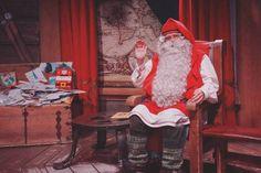 Meet Santa Claus in Lapland