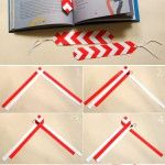something to try with the grade 4-5 kids A bookmark in the colours of Baba Marta:)