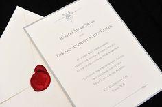 Ideia de convite de casamento, simples e lindo!