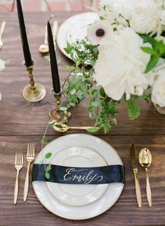 Moody Secret Garden Wedding Inspiration