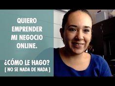 El #video de hoy. Quieres emprender tu negocio online, en este video te explico Como le puedes hacer si no tienes ni idea de como comenzar .  http://jesicaperez.net