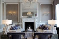 Luxury Living room set by Cocovara Interiors! Living room ideas Luxury interior design London Home Decor #modernsofas #luxurylighting #interiordesignideas Find more: https://www.brabbu.com/en/inspiration-and-ideas/