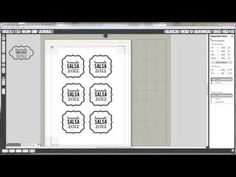 ▶ Silhouette America Printable Gold & Silver Foil - YouTube