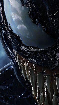 Venom - Marvel Wallpapers HD For iPhone/Android Venom Comics, Marvel Venom, Marvel Art, Marvel Heroes, Marvel Avengers, Venom Spiderman, Wallpaper Animé, The Punisher, Venom Art