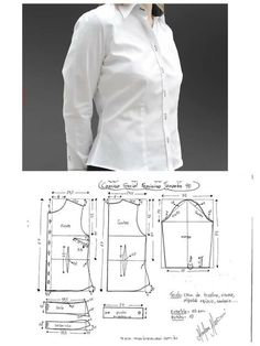 super Ideas for sewing clothes women dresses costura Sewing Blouses, Sewing Shirts, Sewing Pants, Women's Shirts, Sewing Clothes Women, Dress Clothes For Women, Barbie Clothes, Dress Sewing Patterns, Clothing Patterns