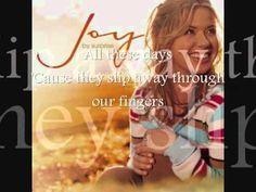 Every Moment -- Joy Williams (Lyrics) /Christian & Gospel