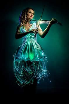Paris Lighting Violinist | Musicians | Singers & Musicians | Others | Performers | Entertainment Agency | Corporate Event Entertainment