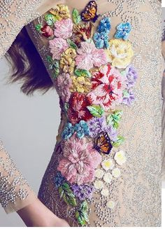 Hamda al Fahim. Beaded embroidery.