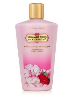 Hidratante Victorias Secret Hydrating Body Lotion Strawberries And Champagne #Hidratante #Victorias Secret