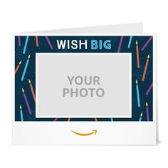 Amazon Gift Card - Upload Your Photo (Print) - Birthday Candles