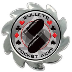 Shadow Spinners™ Pocket Aces - Bullets - Spinner Card Cover - Click Image for pricing and availability