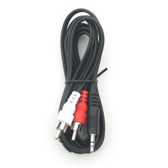 RiteAV - 3.5mm to Stereo RCA Male Cable - 3 ft. by RiteAV. $0.99. Used to connect computers, MP3 Players, and other devices to Receivers and Amplifiers