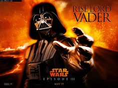 Episodio III Poster Rise Lord Vader