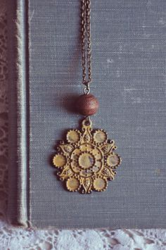 bohemian sunshine necklace by bellehibou