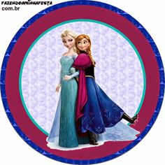 Frozen Free Printable Cupcake Toppers and Wrappers.