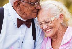 Eles resolveram fazer um ensaio fotográfico para comemorar os 60 anos de casamentos. O resultado ficou sensacional!