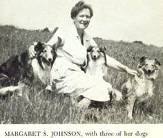 Margaret S. Johnson books...with some of the most beautiful Sheltie illustrations ever printed.