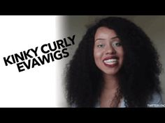 The Softest Kinky Curly Wig Ever | EvaWigs - YouTube