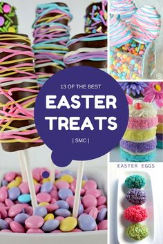 These Easter treats look almost too cute to eat and will be perfect for dessert or as party food!