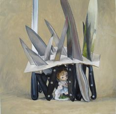 Home - David Edmond Magnetic Knife Strip, Still Life, Bookends, Relationships, David, Contemporary, Drawings, Painting, Home Decor