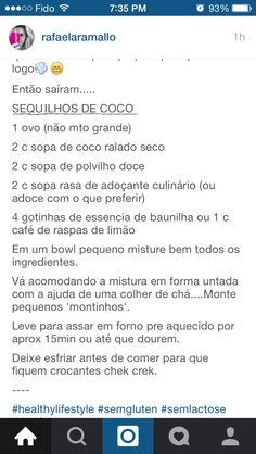 Sequilho de coco