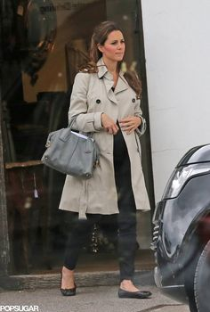 yoursweetremedy:  Duchess of Cambridge went antique shopping, Hungerford, June 22, 2013