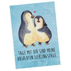 Dieses und weitere Motive mit Pinguin,Otter und Co. findest du auf www.pandaliebe.de Mr Und Mrs Panda, Poster, Mr Mrs, Products, Pandas, Prove Love, Hug, Drawing Hands, Gift For Boyfriend