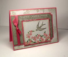 Pink Postale by Jeanne S - Cards and Paper Crafts at Splitcoaststampers