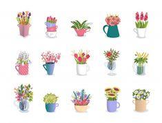 Pink Mason Jars, Mason Jar Flowers, Flower Vases, Flower Pots, Indoor Flowers, Hanging Flowers, Dinosaur Party Decorations, Flower Decorations, Purple Vase