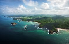 Playa Gigante is a modest fishing village, where Mukul Resort and Spa is  located.