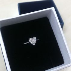 Solitaire Heart Shape Diamond Ring ‪#mabelle_int‬ #wedding #celebration