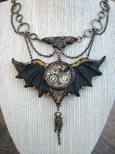 Gothic Wings by AnachronistsWhimsey on Etsy