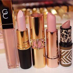 lipstick, makeup, and pink image Kiss Makeup, Glam Makeup, Love Makeup, Makeup Art, Makeup Cosmetics, Makeup Tips, Hair Makeup, Makeup Products, Skin Products