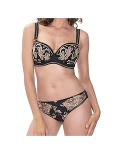 Padded Half Cup Bra Zoom