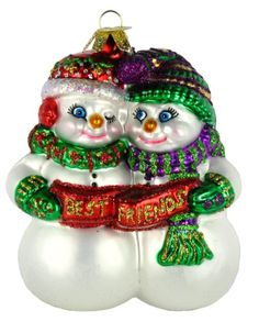 Old World Christmas Best Friends Glass Blown Ornament -- You can find more details by visiting the image link.